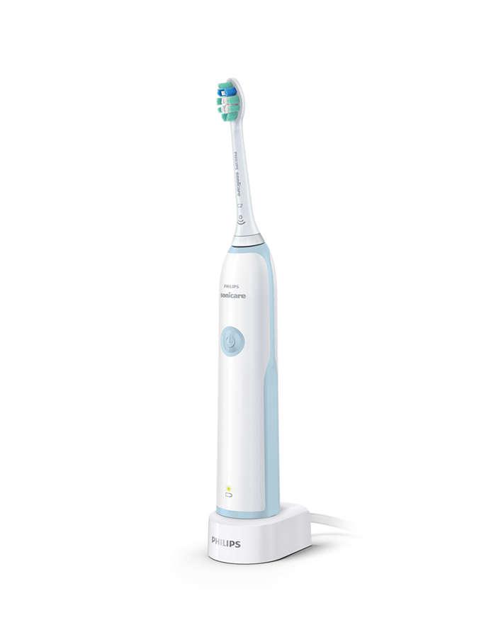 Se ha demostrado clínicamente que ofrece una limpieza superior*