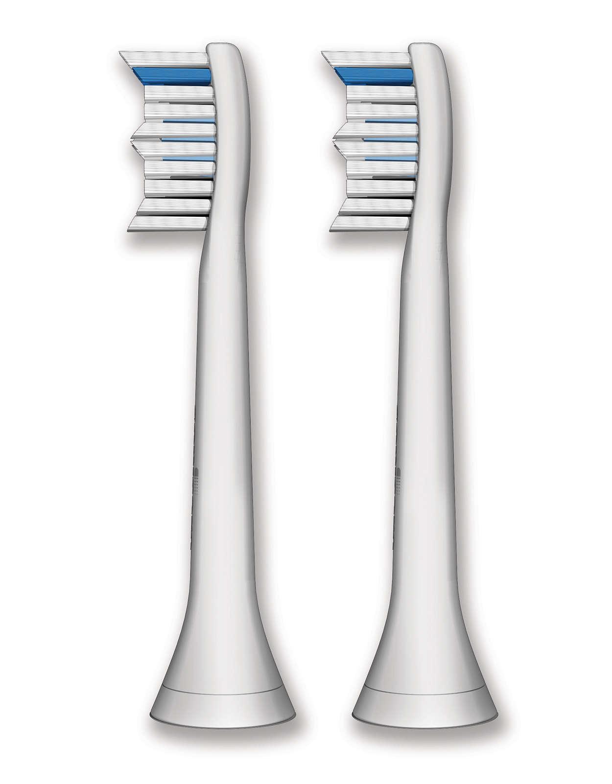 Optimale reiniging tussen de tanden