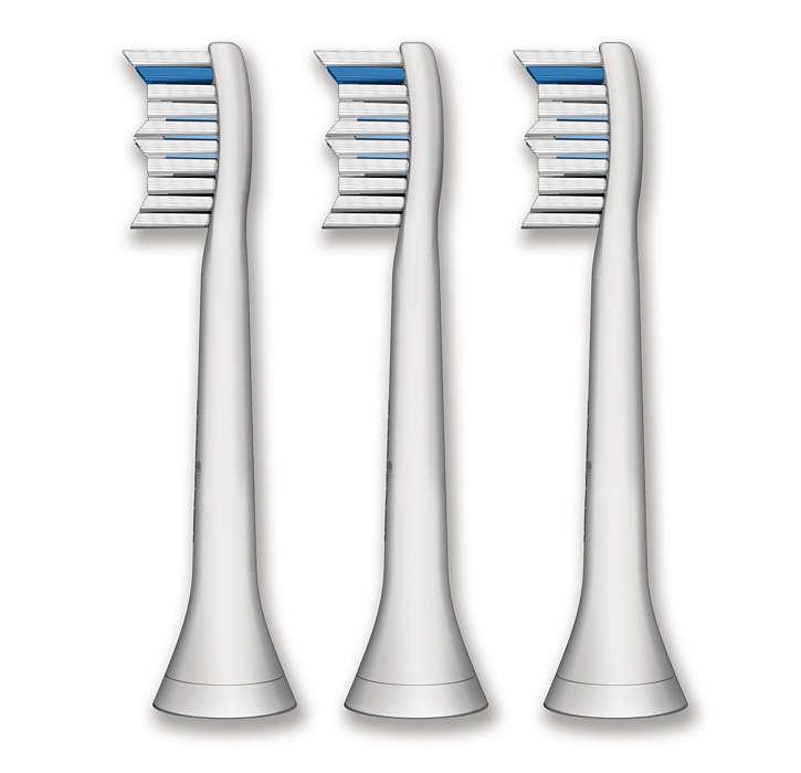 Besonders gute Reinigung der Zahnzwischenräume
