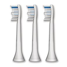 HX6003/05 Philips Sonicare HydroClean Têtes de brosse à dents standard