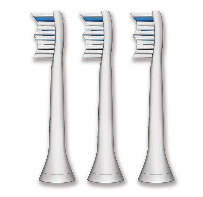 Pembersihan hingga ke sela-sela gigi
