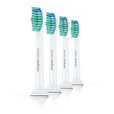 HX6014/07 - Philips Sonicare ProResults رأسا فرشاة أسنان قياسيان مع تقنية الاهتزازات الصوتية