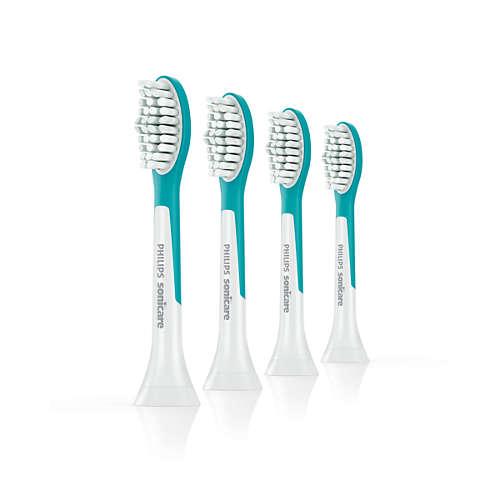 Sonicare For Kids Têtes de brosse à dents standard