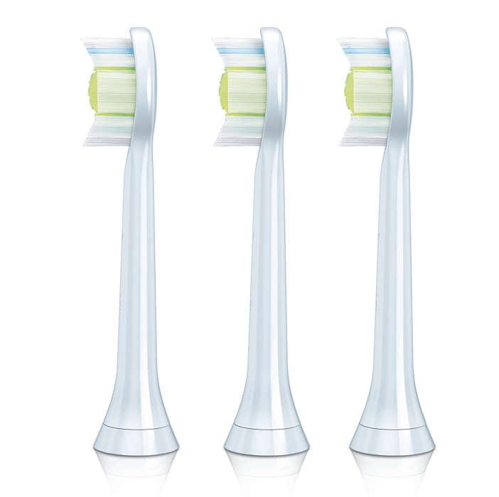 Nettoyage en profondeur pour des dents plus blanches