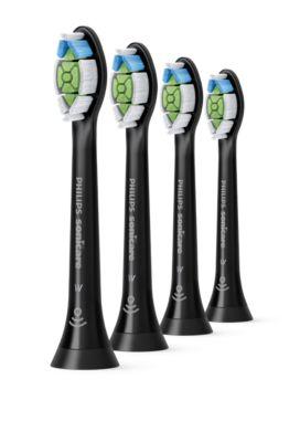 Buy 4 stk. soniske standardtandbørstehovederHX6064/11 online | Philips Shop