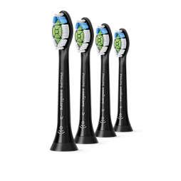 Sonicare W Optimal White Стандартні насадки для звукової зубної щітки