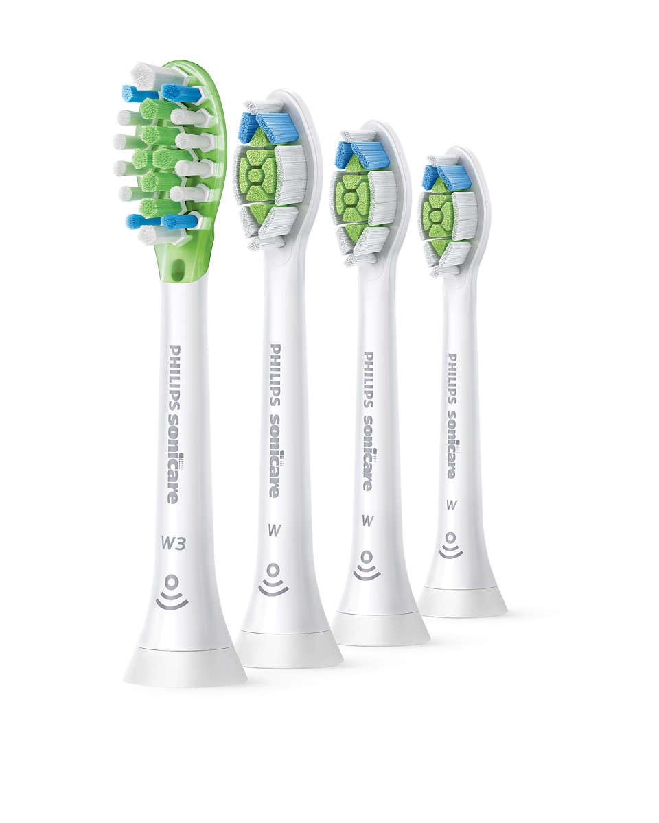 Unos dientes hasta un 100% más blancos en solo una semana*