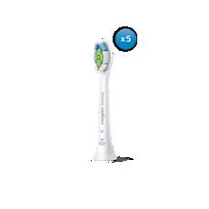 HX6065/10 Philips Sonicare W2 Optimal White Têtes de brosse à dents standard