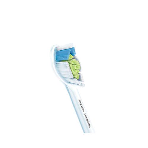 Sonicare W Optimal White Hlavice sonického kartáčku standardní velikost 6 ks