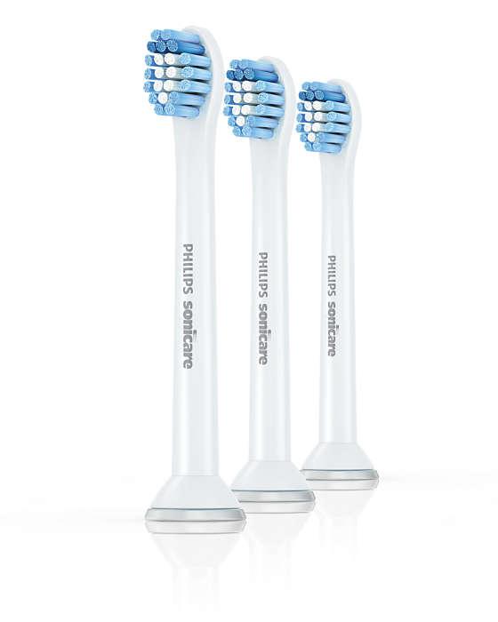 ソフトな毛先が、敏感な歯と歯ぐきを効率よく磨きます。