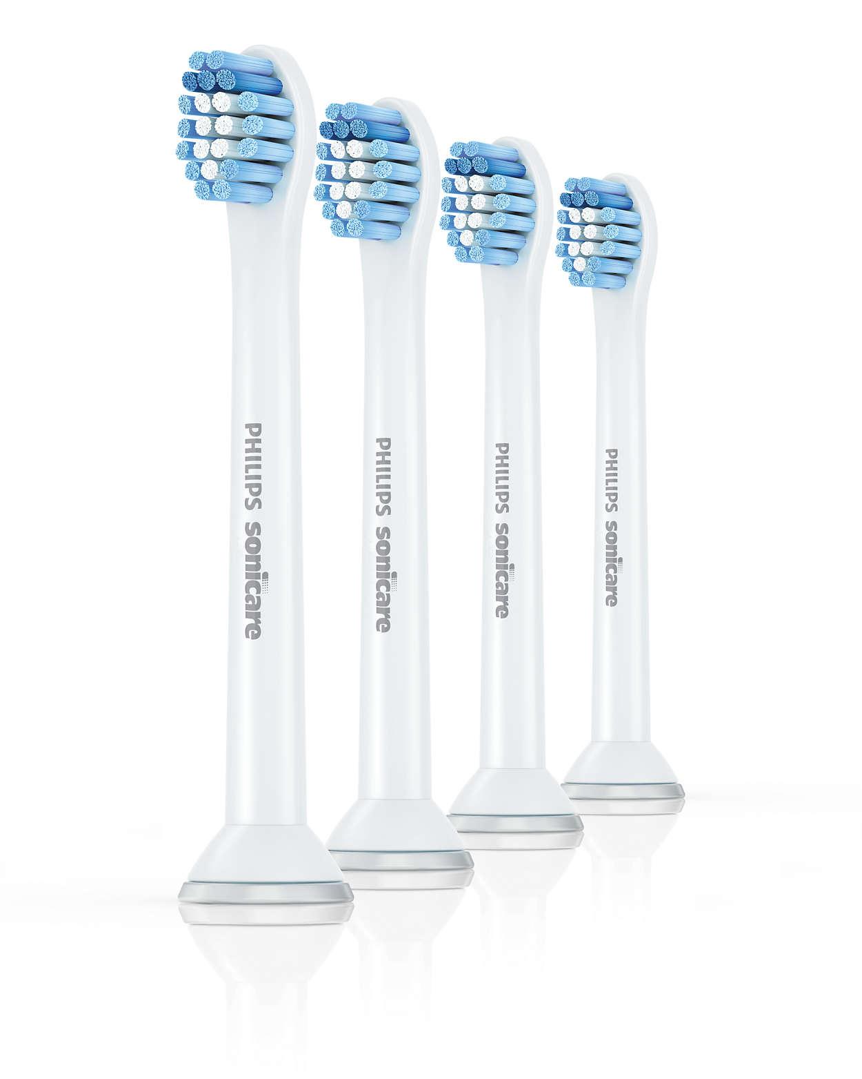 Ultrafølsom tandbørstning. Ultrablød komfort.