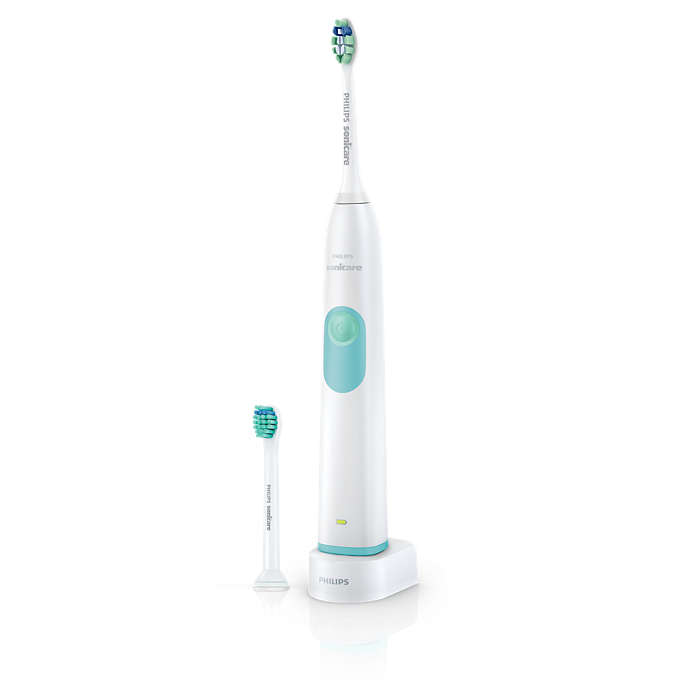Élimine jusqu'à 6fois plus de plaque dentaire*