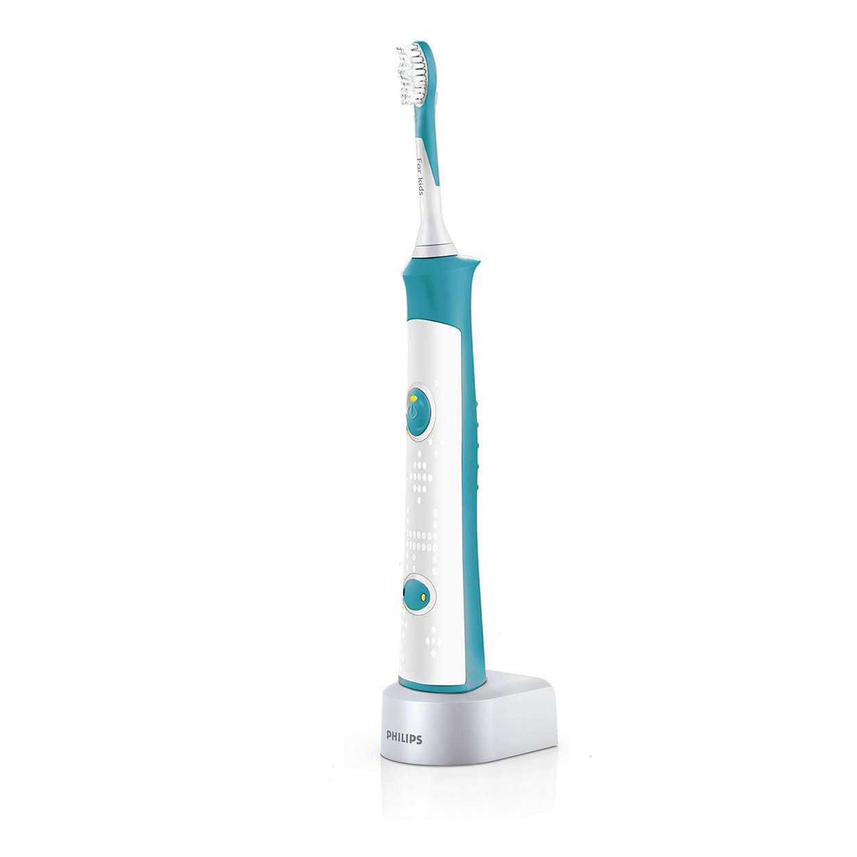 For Kids Звукова електрична зубна щітка HX6311 07  6e86682ec1857