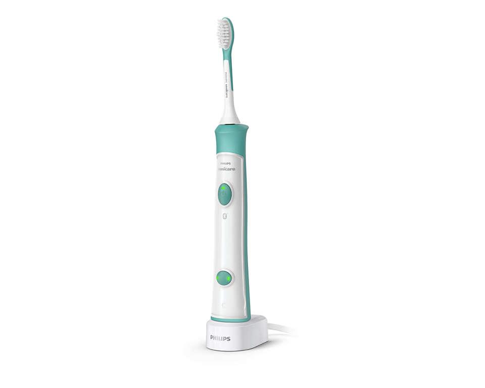 Terveemmät lasten hampaat uudella, fiksulla sähköhammasharjalla