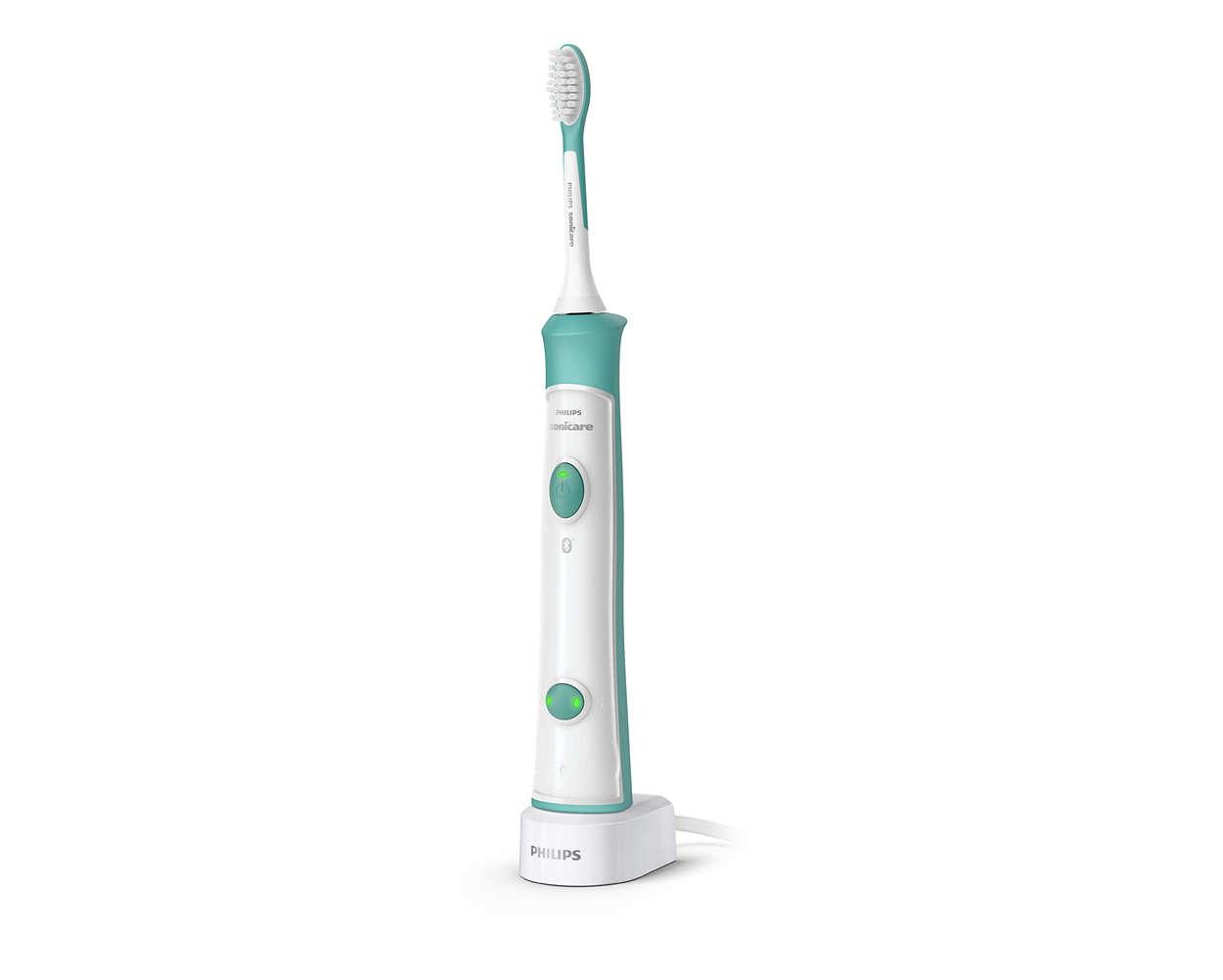 A szónikus fogkefe segít megtanulni a fogmosási rutint