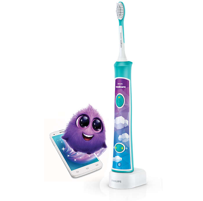 Interactive sonic power. More fun, better brushing