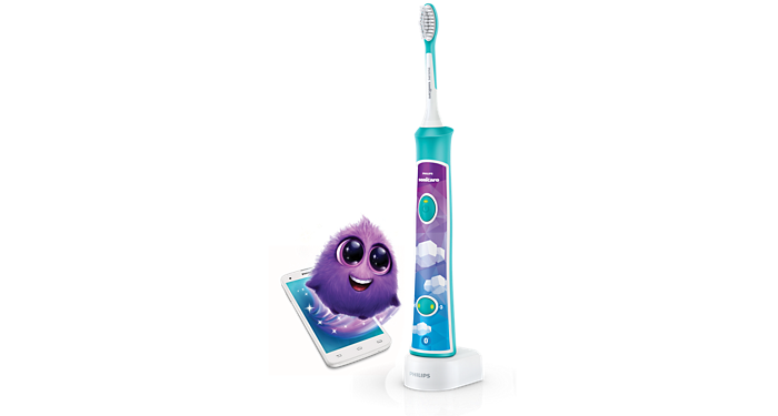For Kids Sonic Electric Toothbrush Hx6321 02 Sonicare