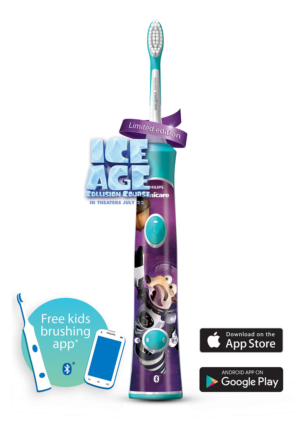 For Kids Sonic Electric Toothbrush Hx6321 05 Sonicare