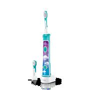 Sonicare For Kids Sonický elektrický zubní kartáček dětský s bluetooth