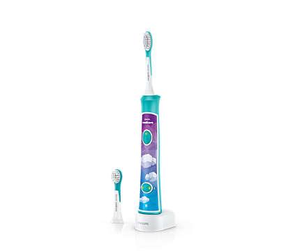 Zum spielerischen Erlernen der richtigen Zahnputztechnik