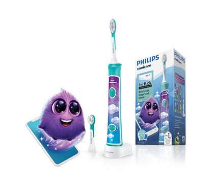 Интерактивная зубная щетка: веселая и эффективная чистка