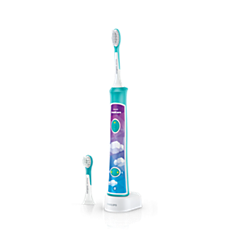 HX6392/02 Philips Sonicare For Kids Brosse à dents électrique - dispense