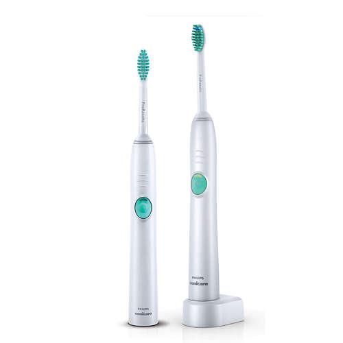 Sonicare EasyClean Sonický elektrický zubní kartáček 2 těla