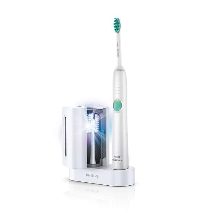 高い歯垢除去効果