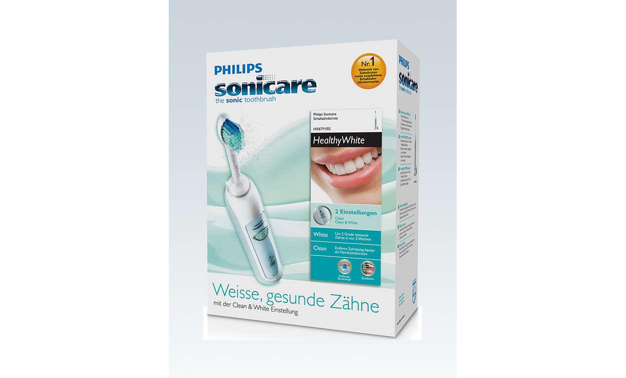 HealthyWhite Cepillo dental eléctrico sónico HX6711 02  277f76eddbdf