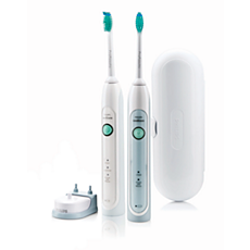 HX6730/33 Philips Sonicare HealthyWhite Two rechargeable sonic toothbrushes
