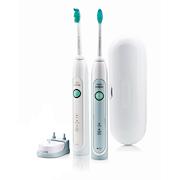 Sonicare HealthyWhite Twee sonische, elektrische tandenborstels