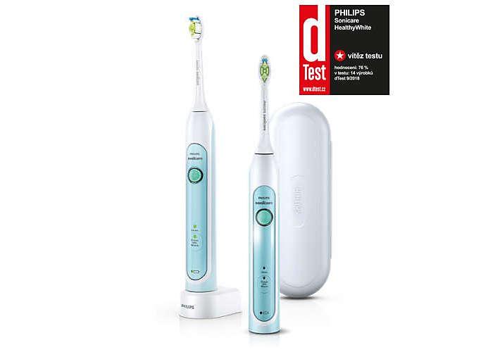 Bělejší azdravější zuby