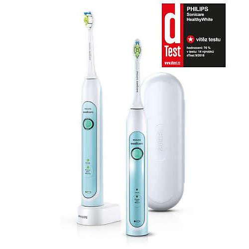 Sonicare HealthyWhite Sonický elektrický zubní kartáček 2 těla