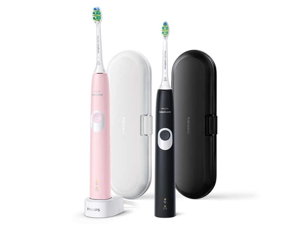 Schonere tanden. Beschermt je tandvlees.