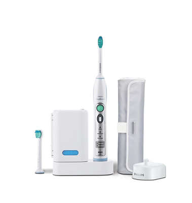 Taking care of your oral health is easy with the Philips Sonicare Essence 1 Series Rechargeable Sonic Toothbrush. It uses a powered motor to make it more convenient .