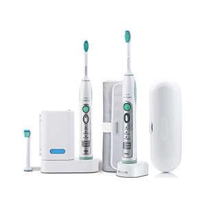 Sonicare FlexCare Doppelpack elektrische Schallzahnbürsten