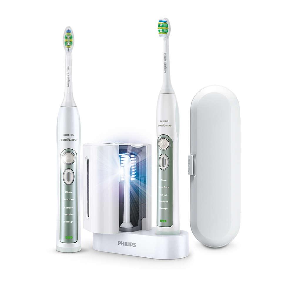 Superieure reiniging tussen de tanden