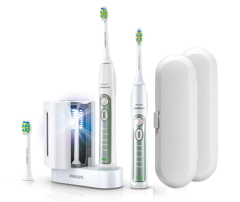 Hervorragende Reinigung der Zahnzwischenräume