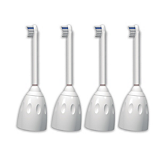 HX7004/05 Philips Sonicare e-Series Têtes de brosse compactes
