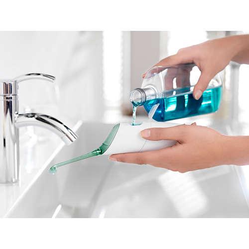 Sonicare AirFloss Rent mellan tänderna på 30 sekunder