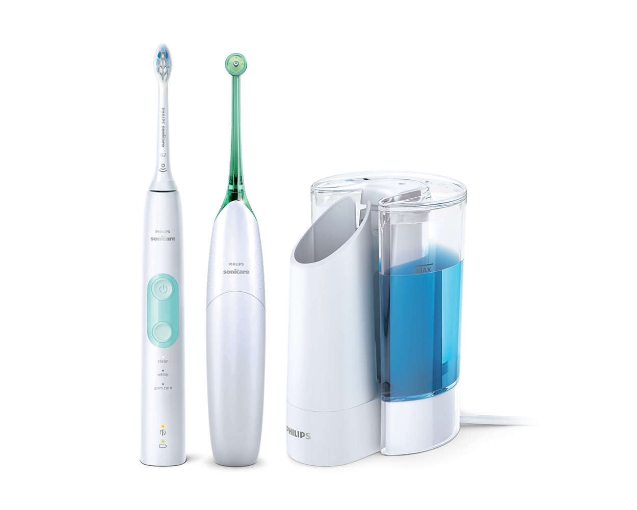 Sie verwenden keine Zahnseide? Dann verwenden Sie den AirFloss.