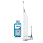 Philips Sonicare AirFloss Ultra Rechargeable powered interdental cleaner HX8432/26 2 nozzles 8 onz BreathRx mouth rinse