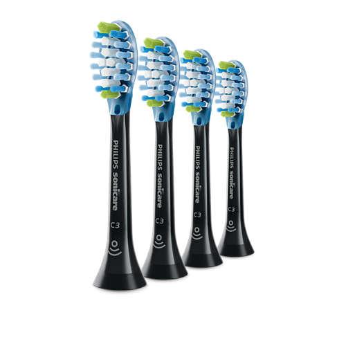 4-pack Standard sonic toothbrush heads