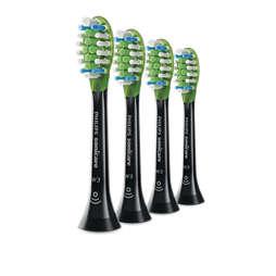 Sonicare W3 Premium White Стандартни глави за звукова четка за зъби