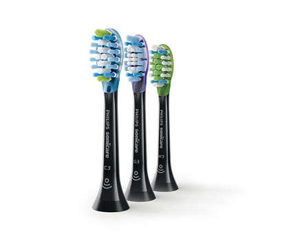 Gründlichere Reinigung, gesünderes Zahnfleisch und weißere Zähne