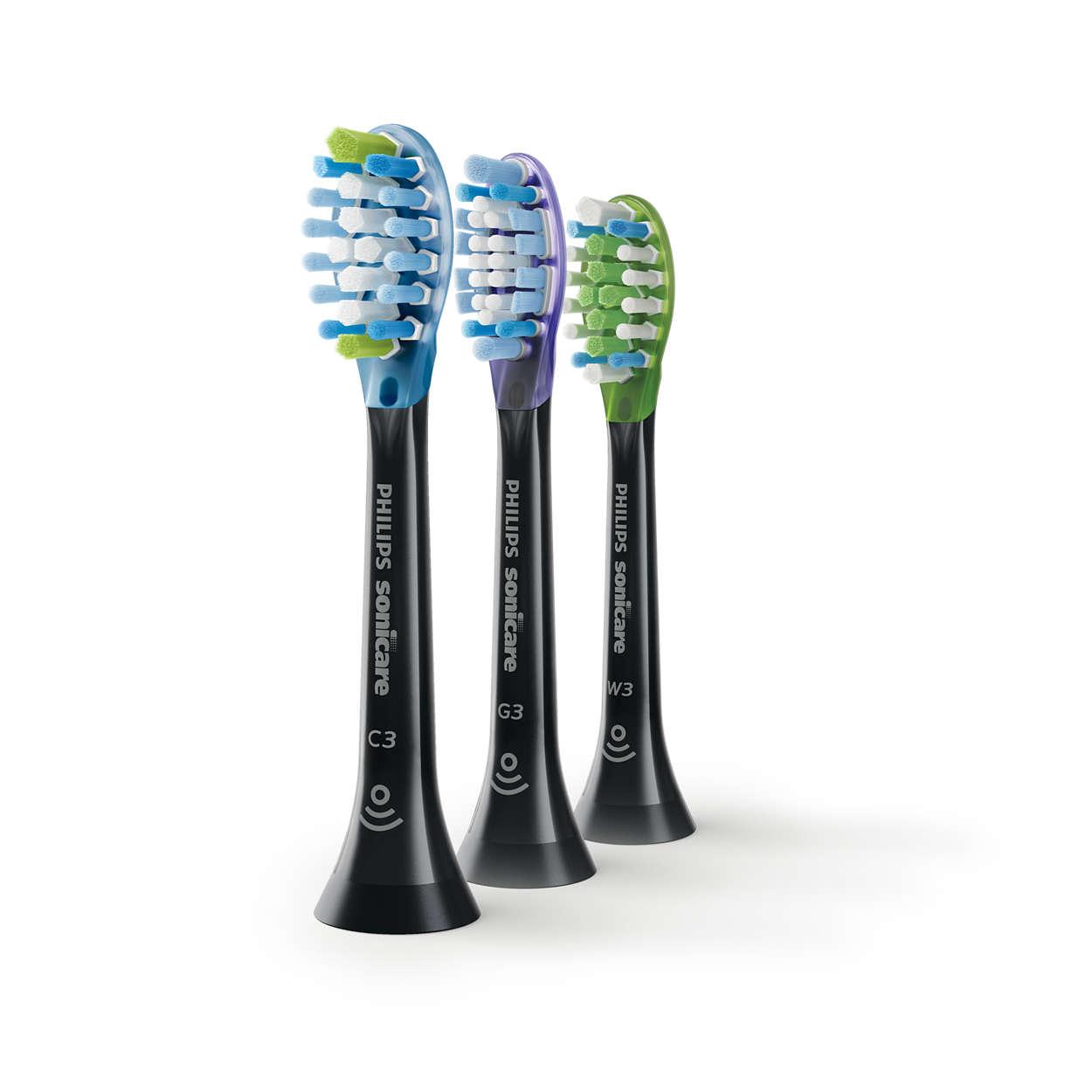 Nettoyage plus efficace, plus sain et dents plus blanches
