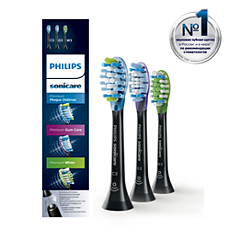 HX9073/33 - Philips Sonicare  Набор стандартных насадок для зубной щетки