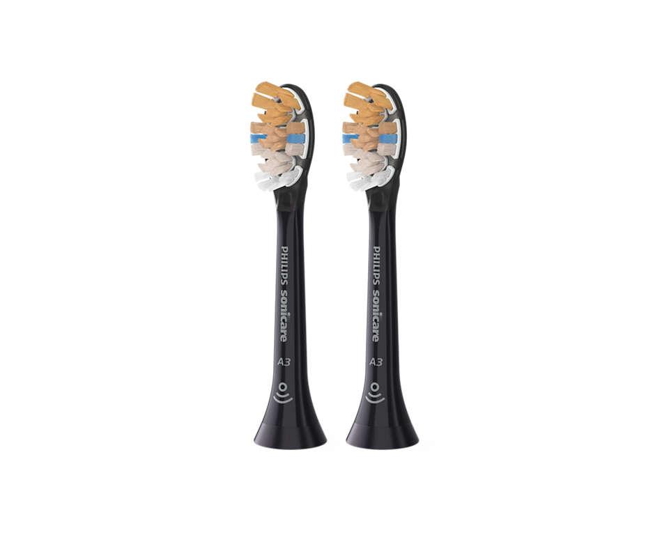 Jedna kartáčková hlavice pro čistší zuby a zdravější dásně