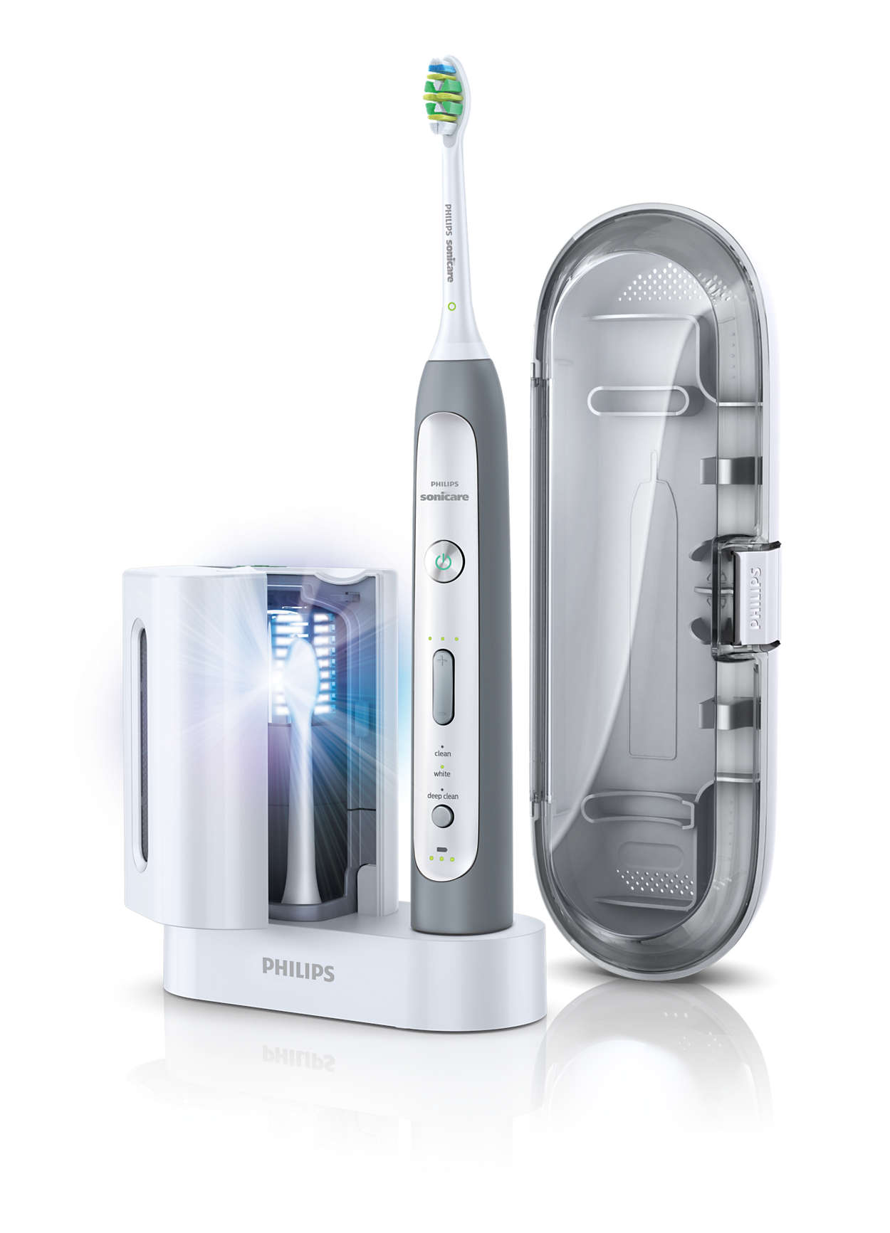 Flexcare platinum sonic electric toothbrush hx9110/02 | sonicare.