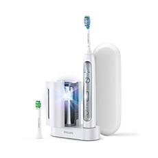HX9182/32 Philips Sonicare FlexCare Platinum Brosse à dents électrique - dispense